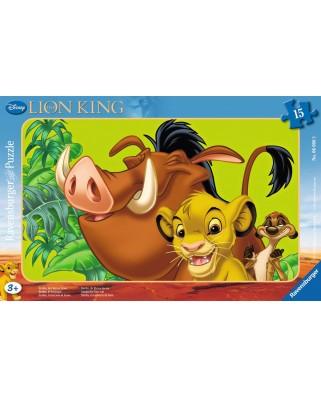 Puzzle Ravensburger - Simba, 15 piese (06008)