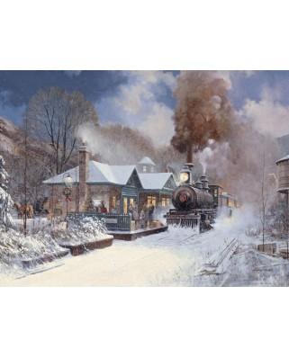 Puzzle Cobble Hill - Douglas Laird: Next Stop, 500 piese XXL (44398)