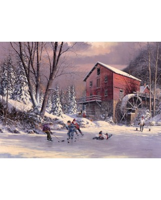 Puzzle Cobble Hill - Douglas Laird: The Old Mill Pond, 1.000 piese (44361)