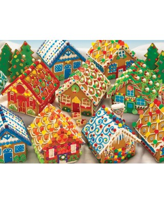 Puzzle Cobble Hill - Gingerbread Houses, 400 piese (44544)