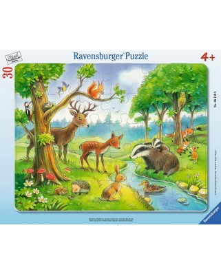 Puzzle Ravensburger - Animale Salbatice, 30 piese (06138)