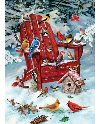 Puzzle Cobble Hill - Greg Giordano: Adirondack Birds, 1000 piese (44494)