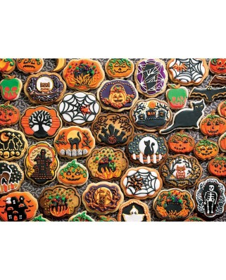 Puzzle Cobble Hill - Halloween Cookies, 350 piese XXL (64930)