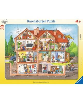 Puzzle Ravensburger - Inauntrul Casei, 30 piese (06154)