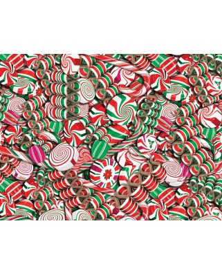 Puzzle Cobble Hill - Holiday Candy, 500 piese XXL (48122)