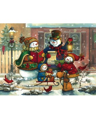 Puzzle Cobble Hill - Janet Stever: Song for the Season, 400 piese (44545)