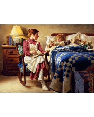 Puzzle Cobble Hill - Jim Daly: Bedtime Story, 1.000 piese (44357)
