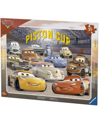 Puzzle Ravensburger - Cars 3, 35 piese (06157)