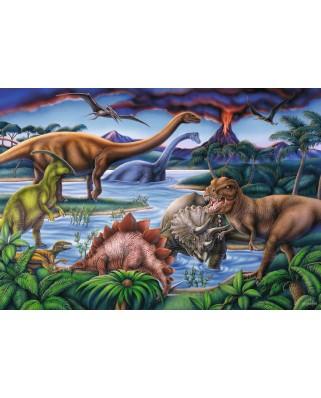 Puzzle Ravensburger - Dinozauri, 35 piese (08613)