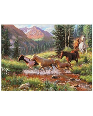 Puzzle Cobble Hill - Mountain Thunder, 1000 piese (61352)