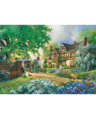 Puzzle Cobble Hill - Old Coach Inn, 1.000 piese (51166)