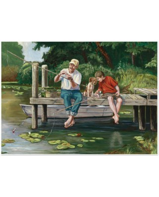 Puzzle Cobble Hill - On the Dock, 1000 piese (64994)