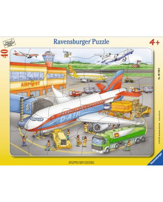 Puzzle Ravensburger - Mic Aeroport, 40 piese (06700)