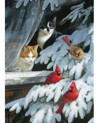 Puzzle Cobble Hill - Persis Clayton Weirs: Bird Watchers, 1000 piese (44505)