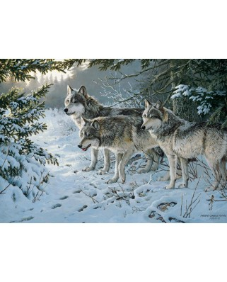 Puzzle Cobble Hill - Persis Clayton Weirs: Wolf Trail, 1.000 piese (44497)