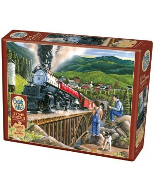 Puzzle Cobble Hill - Steaming Out of Town, 275 piese XXL (65024)