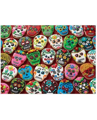 Puzzle Cobble Hill - Sugar Skull Cookies, 1000 piese (58274)