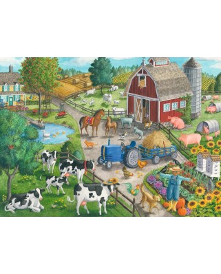 Puzzle Ravensburger - Ferma, 60 piese (09640)