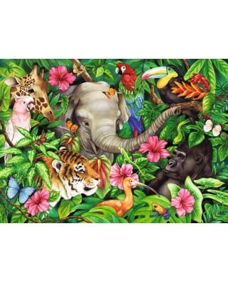 Puzzle Ravensburger - Prieteni Tropicali, 60 piese (09533)