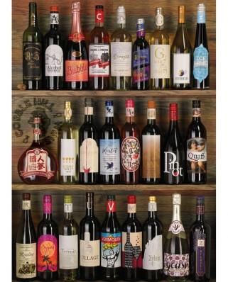 Puzzle Cobble Hill - Wine Alphabet, 1000 piese (64975)