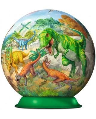 Puzzle glob Ravensburger - Dinozauri, 72 piese (11838)