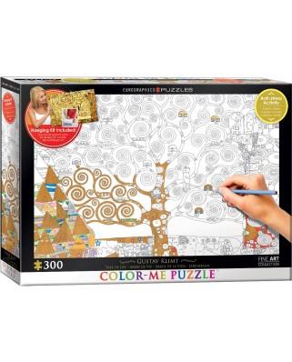 Puzzle de colorat Eurographics - Gustav Klimt: The Tree of Life, 300 piese XXL (56042)