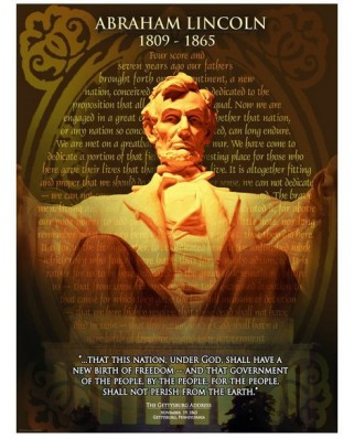 Puzzle Eurographics - Abraham Lincoln, 1.000 piese (42300)