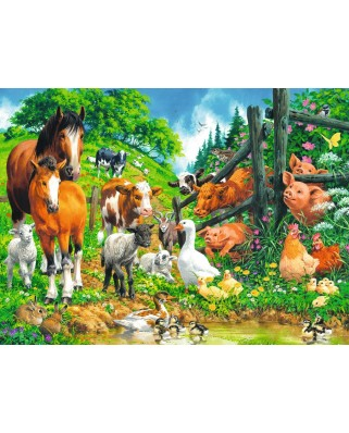 Puzzle Ravensburger - Animale, 100 piese (10689)