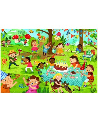 Puzzle Eurographics - Birthday Party Party Time!, 60 piese (42916)