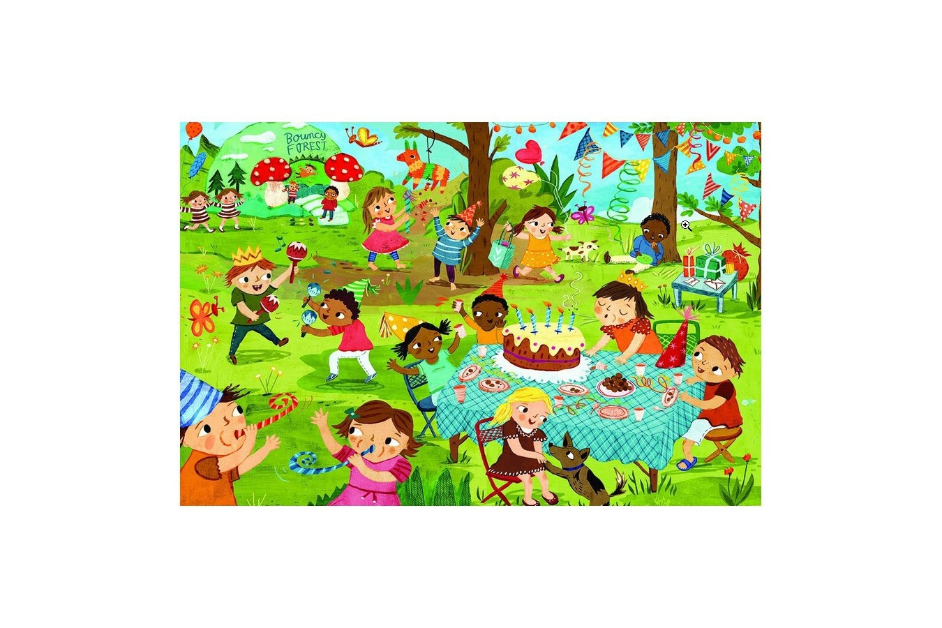 puzzle eurographics birthday party party time 60 piese 42916