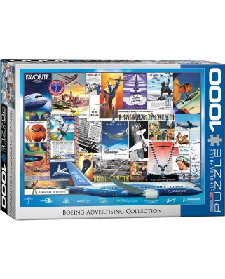 Puzzle Eurographics - Boeing Advertising Collection, 1.000 piese (62264)