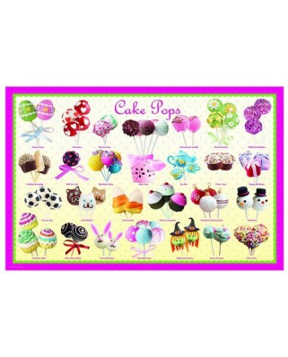 Puzzle Eurographics - Cake Pops, 100 piese (42963)