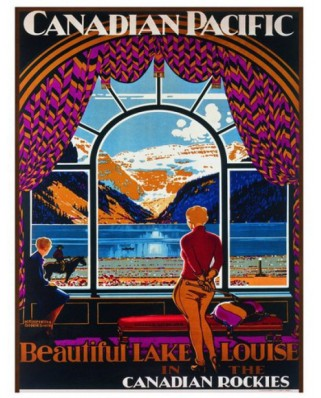 Puzzle Eurographics - Canadian Pacific Rail - Magnifique Lac Louise, 1.000 piese (42143)