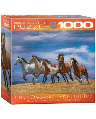 Puzzle Eurographics - Chris Cummings: Over the Top, 1.000 piese (53454)
