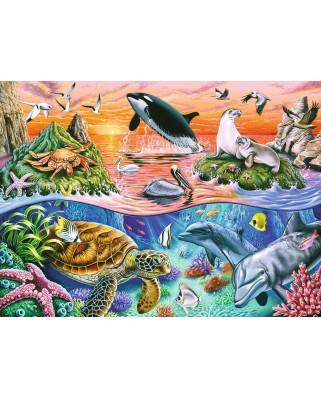 Puzzle Ravensburger - Minunatul Ocean, 100 piese (10681)