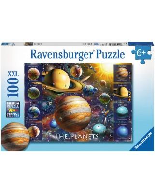 Puzzle Ravensburger - Planete, 100 piese (10853)