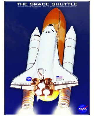 Puzzle Eurographics - Die Raumfahre Atlantis NASA, 1.000 piese (42514)