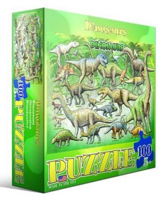 Puzzle Eurographics - Dinosaur, 100 piese (42730)