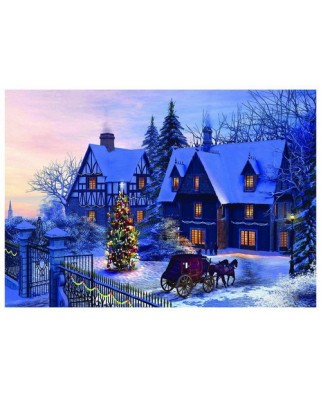 Puzzle Eurographics - Dominic Davison: At Home For Christmas, 1.000 piese (42164)