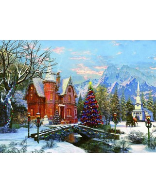 Puzzle Eurographics - Dominic Davison: Holiday Lights, 1.000 piese (53308)