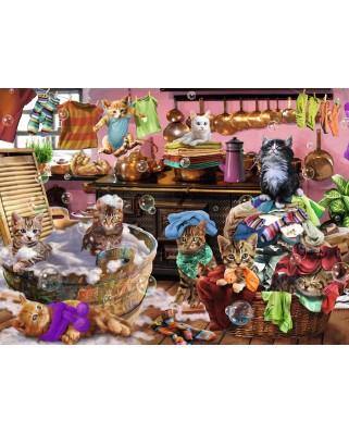 Puzzle Ravensburger - Pisici, 150 piese (10031)