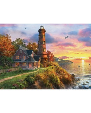 Puzzle Eurographics - Dominic Davison: The Old Lighthouse, 1.000 piese (58620)