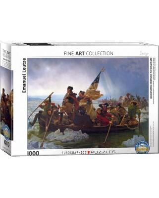 Puzzle Eurographics - Emanuel Leutze: Washington Crossing the Delaware, 1.000 piese (53425)