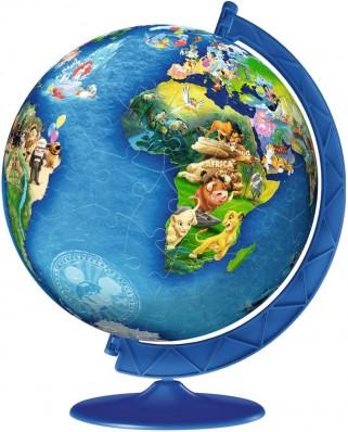 Puzzle 3D Ravensburger - Globul Disney, 180 piese (12343)