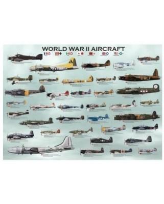 Puzzle Eurographics - Flugzeuge aus dem Zweiten Weltkrieg, 300 piese (8300-0075)