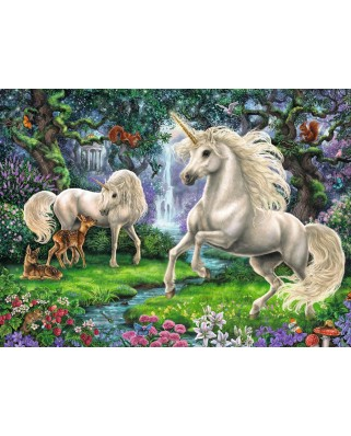 Puzzle Ravensburger - Unicornii Mistici, 200 piese (12838)