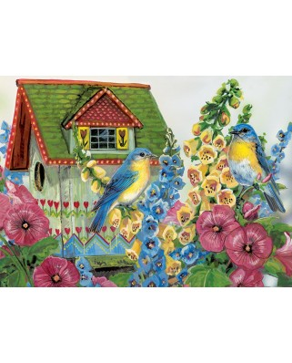 Puzzle Eurographics - Janine Grende: Country Cottage, 300 piese (43311)