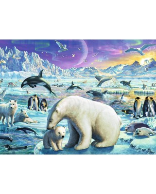 Puzzle Ravensburger - Animale Polare, 300 piese (13203)