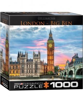 Puzzle Eurographics - London Big Ben, 1.000 piese (62215)