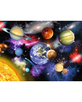 Puzzle Ravensburger - Sistemul Solar, 300 piese (13226)